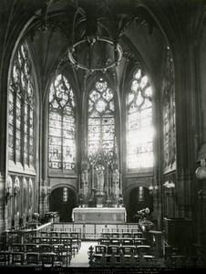 France Paris Saint-Gervais Church Chapel of the Virgin old LP Photo 1900'