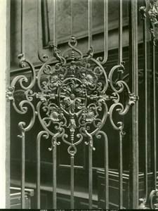 France Paris Saint-Gervais Church detail old LP Photo 1900'