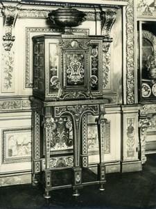 Old LP Photo of Louis XIV Armoire Louvre Museum Paris France 1900