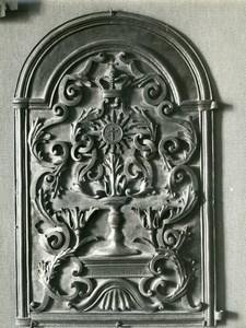 France Paris Arts Decoratifs Museum detail old LP Photo 1900'