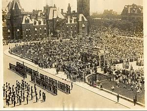 Diamond Jubilee Celebration Ottawa old Photo 1927