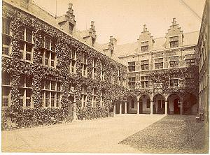 Anvers, Plantin Moretus Museum Printing old Photo 1890