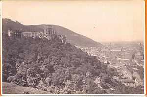 Hudelbry Castle , Germany, old Photo CC 1880'