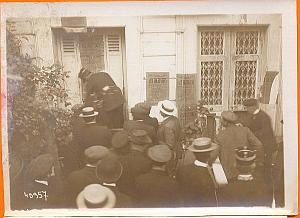 Fort Cochon, Police intervention, Paris, old Photo 1900