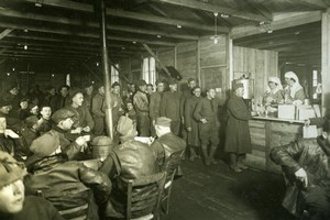 Red Cross Canteen, Aviation US, WWI, old Photo 1918