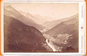 Innsbruk, Martinsbruk, old Photo CC 1880'