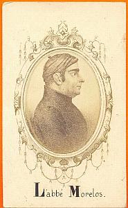 President Jose Morelos, Mexico, old Merille CDV 1865'