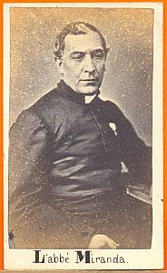 Father Miranda , Mexico, old Merille CDV 1865'
