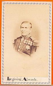 Juan Nepomucene Almonte, Mexico, old Merille CDV 1865'