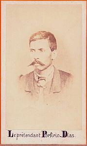 President Porfirio Diaz, Mexico, old Aubert CDV 1865'