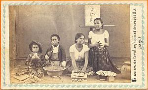 Tortilleras Maker & Children Mexico Merille CDV 1865'