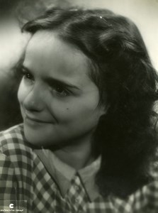 France Yola Carlotti French Film Actress Old Continental Films Photo 1940's