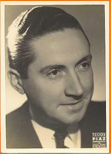 Jean Rigaud, French actor, old Piaz Photo 1940'