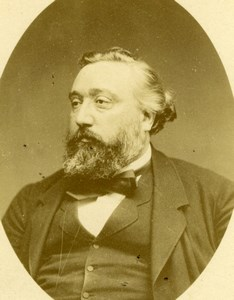 Leon Gambetta, french politician, Carjat Photo CC 1880