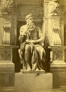 Michelangelo Moses Roma Chiesa di San Pietro in Vincoli d'Alessandri Photo 1860
