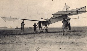 France Aviation Antoinette Monoplane Old Postcard 1909