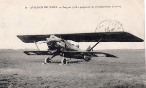 France Military Aviation Breguet 19 B2 Biplane Bomber Old Postcard 1922