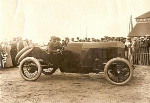 Joseph Christiaens Excelsior race car Dieppe Photo 1912