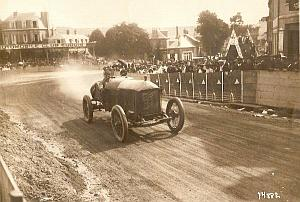 Joseph Christiaens Excelsior race car, Eu, Photo 1912