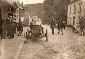 Christiaens, Excelsior Car Race, Belgium old Photo 1912