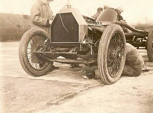 Brooklands 50 miles World Record Excelsior Photo 1912