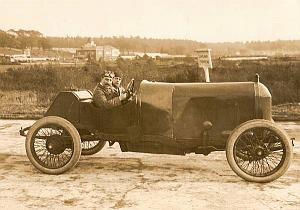 Brooklands, Christiaens, Excelsior Car Race, Photo 1912