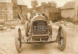 New Excelsior 6 cylinder Car Racing, old Photo 1913