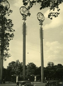 World's Fair Paris France, old Knecht Photo 1937