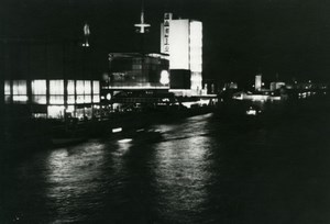 Paris by night, World Fair, old Knecht Photo 1937