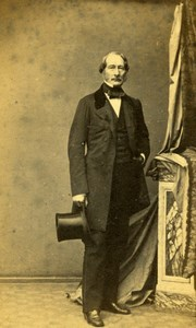 Man, Fashion Empire France old Lagriffe CDV Photo 1860'