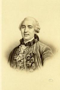 Naturalist Comte de Buffon old Charlet & Jacotin CDV Photo 1870