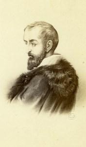 Antonio da Correggio old Jacotin Albumen CDV Photo 1870