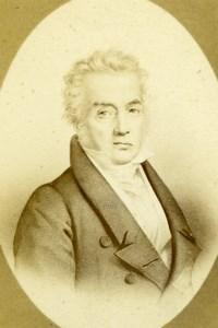 Jacques-Louis David old Jacotin Albumen CDV Photo 1870