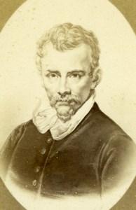 Italian Baroque Painter Annibale Carracci old Charles Jacotin CDV Photo 1870