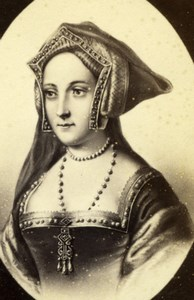 Queen Consort Jane Seymour old Charles Jacotin CDV Photo 1870