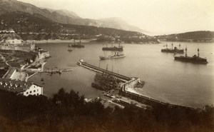 Villefranche Port Harbour France Gilletta Photo 1880'