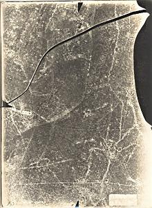 Westphalie Aerial view France First World War WWI 1916'