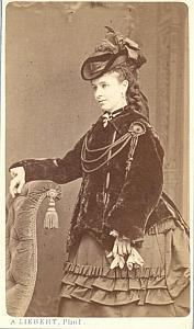 Emma Albani Soprano Early Opera old CDV Photo 1870'