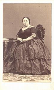 Marietta Alboni Contralto Early Opera CDV Photo 1860'