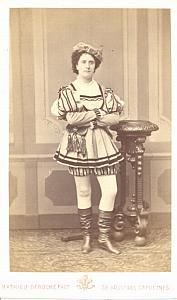 Antoinette Arnaud Soprano Early Opera CDV Photo 1870'