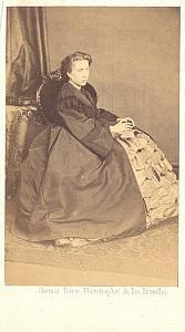 Mlle Artot Mezzo-Soprano Early Opera old CDV Photo 1860'
