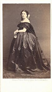 Mlle Boulard Soprano Early Opera old CDV Photo 1860'