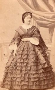 Mlle Dottini Early Opera Theatre old CDV Photo 1860'