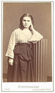 Galli Marie Mezzo-Soprano Early Opera CDV Photo 1870'