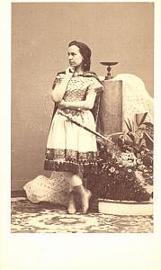 Barbara Marchioso Contralto Early Opera CDV Photo 1860'