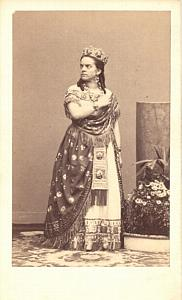 Carlotta Marchioso Soprano Early Opera CDV Photo 1860'