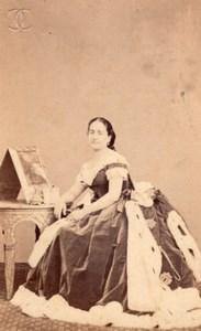 Henriette Monroze Soprano Early Opera CDV Photo 1860'