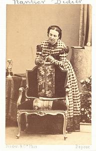 Nantier Didier Mezzo Soprano Early Opera CDV Photo 1860