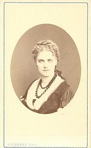 Christine Nilsson Soprano Early Opera CDV Photo 1870'