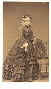 Felicite Pradher Soprano Early Opera old CDV Photo 1860